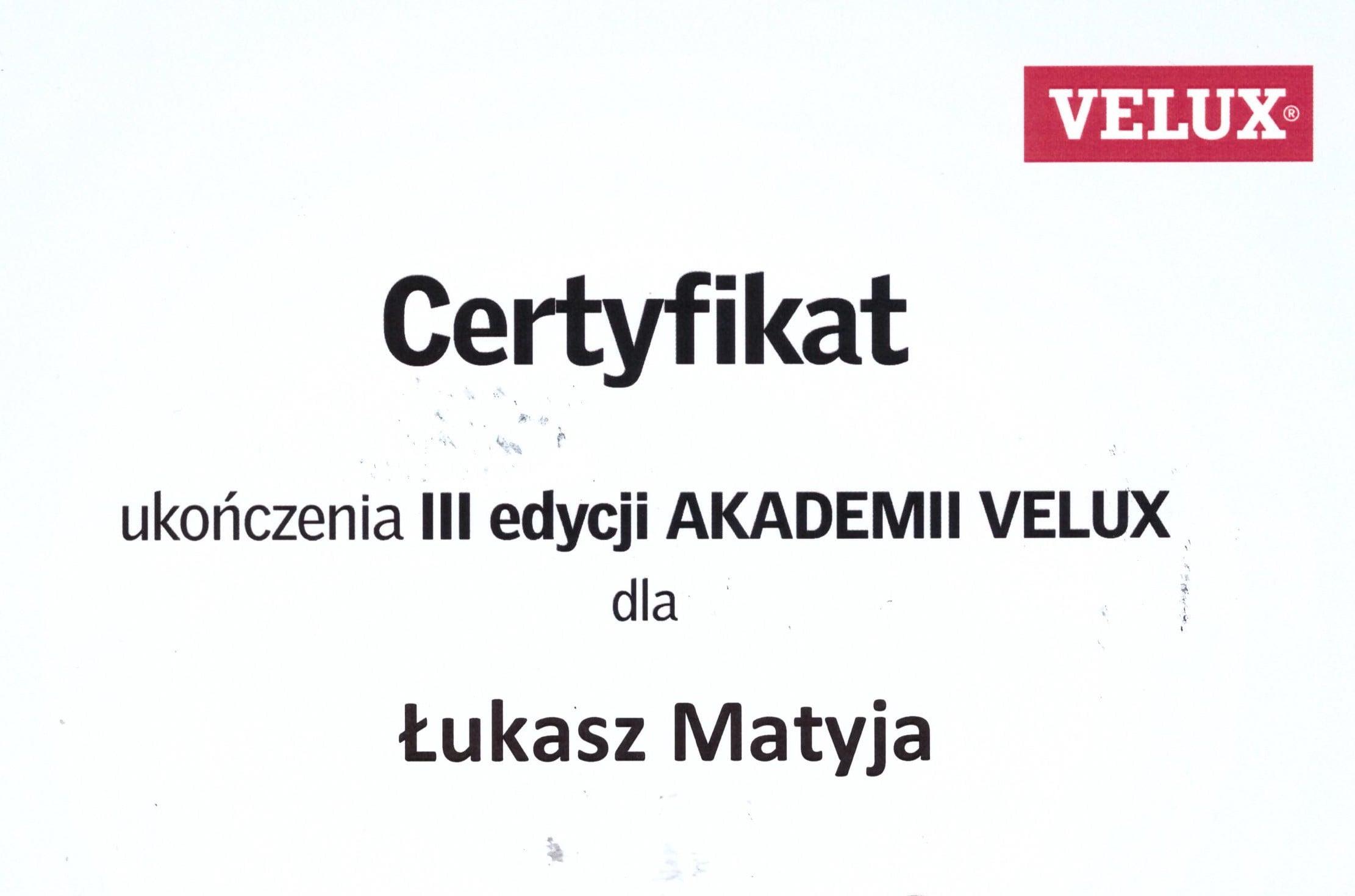 Certyfikat - Łukasz — kopia