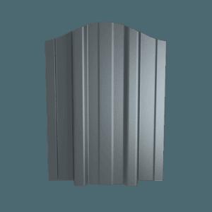 Sztachety metalowe na ogrodzenie bez malowania Emka